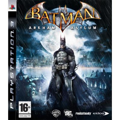 Batman: Arkham Asylum [PS3, английская версия]