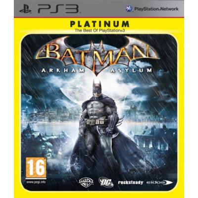 Batman: Arkham Asylum (Platinum) [PS3, английская версия]