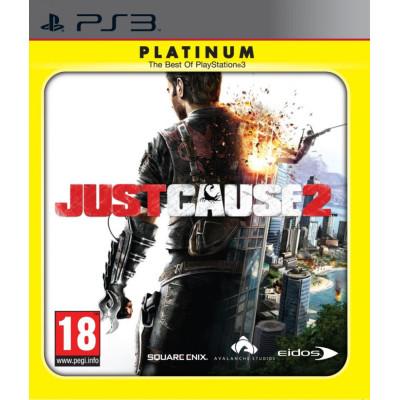 Just Cause 2 (Platinum) [PS3, английская версия]