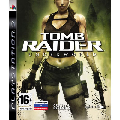 Tomb Raider: Underworld [PS3, английская версия]