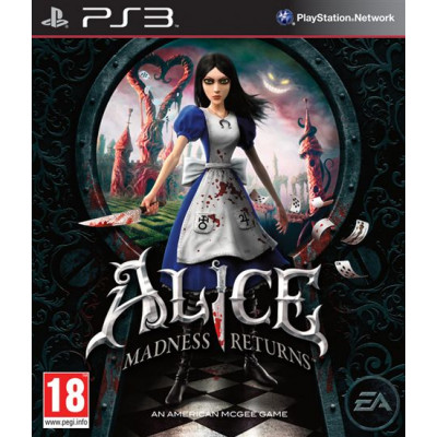 Alice: Madness Returns [PS3, английская версия]