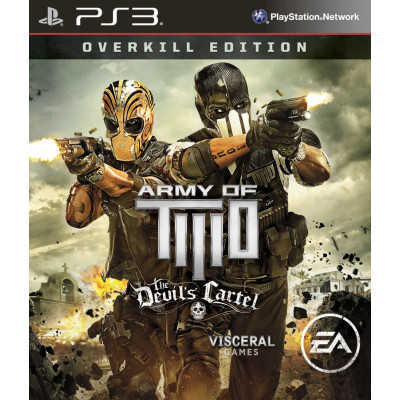 Army of Two: The Devil's Cartel. Overkill Edition [PS3, английская версия]