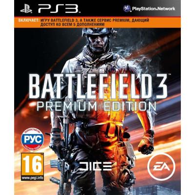 Battlefield 3. Premium Edition [PS3, русская версия]