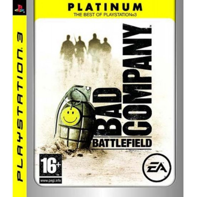Battlefield: Bad Company (Platinum) [PS3, русская документация]