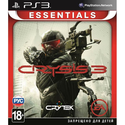 Crysis 3 (Essentials) [PS3, русская версия]