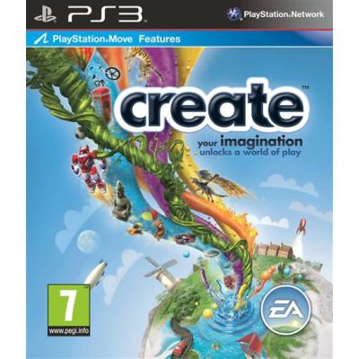 Create (с поддержкой PS Move) [PS3, английская версия]