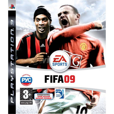 FIFA 09 [PS3, русская версия]
