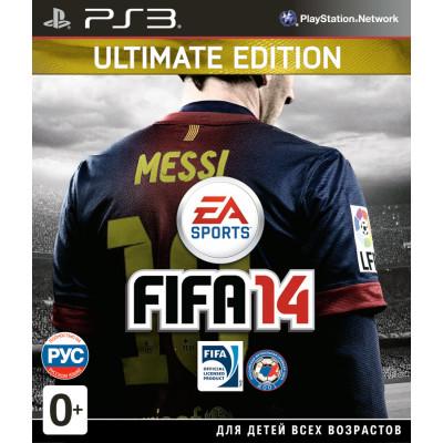 FIFA 14. Ultimate Edition (с поддержкой PS Move) [PS3, русская версия]