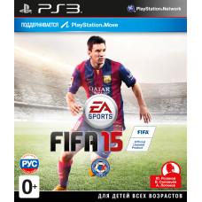 FIFA 15 (с поддержкой PS Move) [PS3, русская версия]