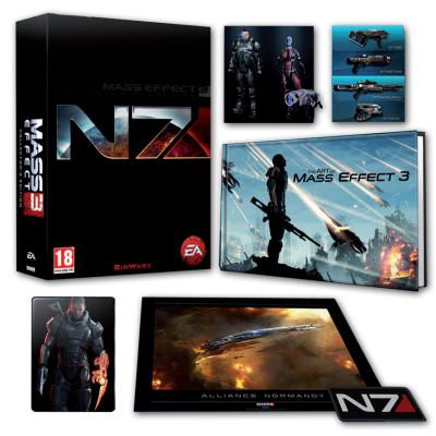 Игра для PlayStation 3 Mass Effect 3. N7 Collector's Edition (русские субтитры)