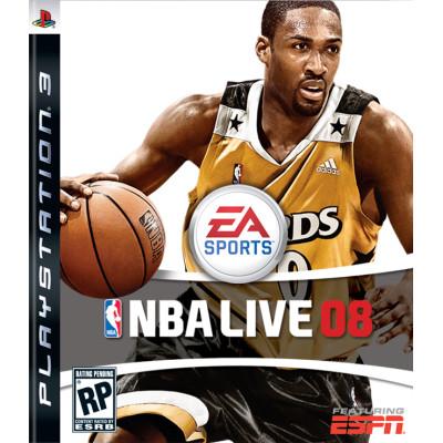 NBA Live 08 [PS3, английская версия]