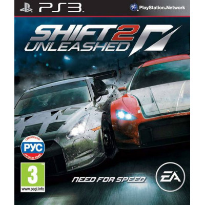 Need for Speed Shift 2 Unleashed [PS3, русская версия]