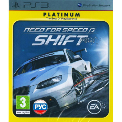 Need for Speed Shift (Platinum) [PS3, русская версия]