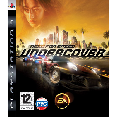 Need for Speed Undercover [PS3, русская версия]
