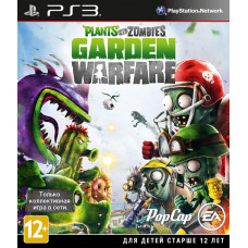 Plants vs Zombies Garden Warfare [PS3, русская документация]