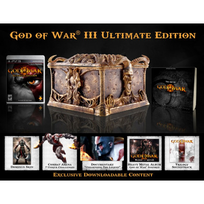 God of War III. Ultimate Editon [PS3, американская версия]