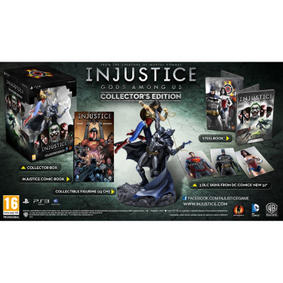 Injustice: Gods Among Us. Collector's Edition [PS3,XBOX360, европейская версия]