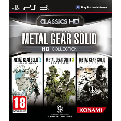 Metal Gear Solid HD Collection [PS3, английская версия]