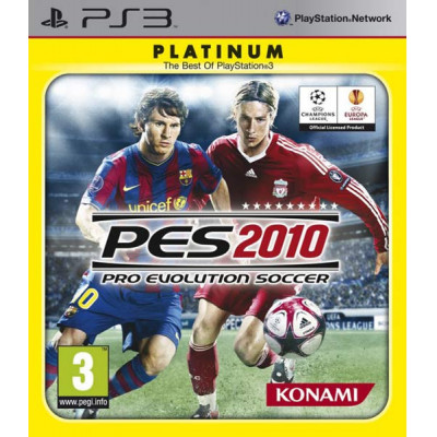 Pro Evolution Soccer 2010 (Platinum) [PS3, русская версия]