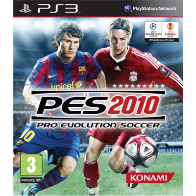 Pro Evolution Soccer 2010 [PS3, русская версия]