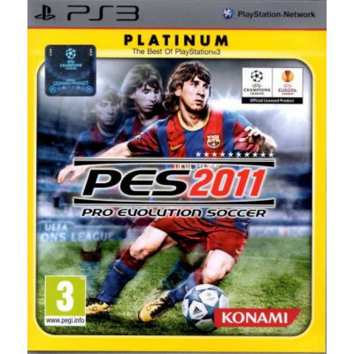 Pro Evolution Soccer 2011 (Platinum) [PS3, русские субтитры]