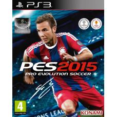 Pro Evolution Soccer 2015 [PS3, русские субтитры]