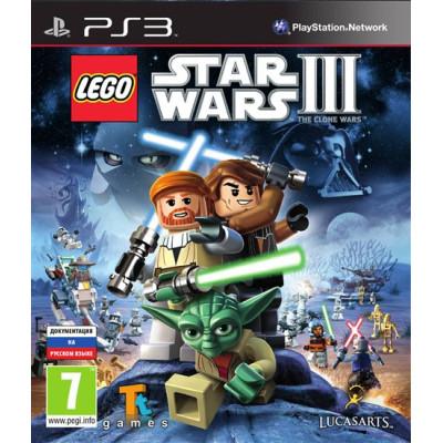 LEGO Star Wars III: the Clone Wars [PS3, русская документация]