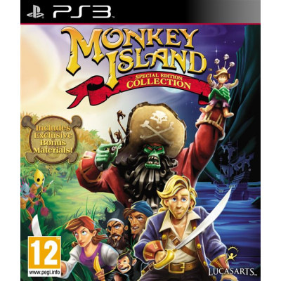 Monkey Island. Special Edition Collection [PS3, английская версия]