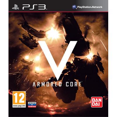 Armored Core V [PS3, русская документация]