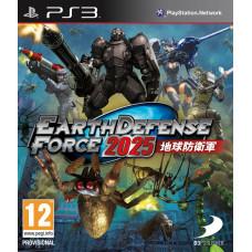 Earth Defense Force 2025 [PS3, русская документация]