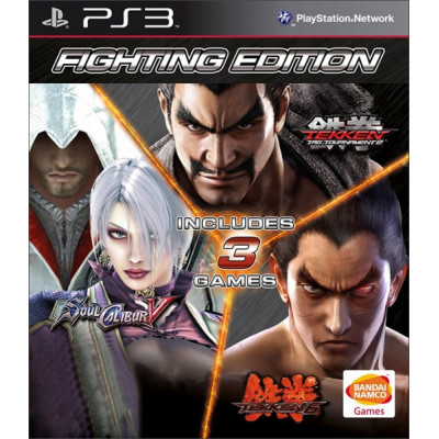 Fighting Edition (Tekken 6+Soul Calibur 5+Tekken Tag Tournament 2) [PS3, русские субтитры]