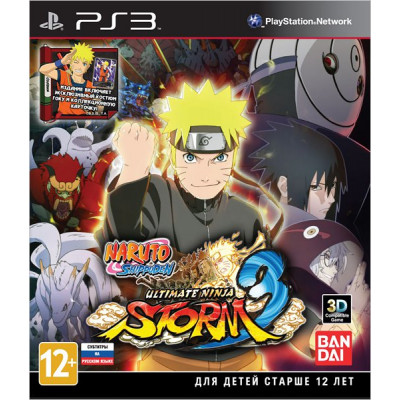 Naruto Shippuden: Ultimate Ninja Storm 3. Day One Edition [PS3, русские субтитры]