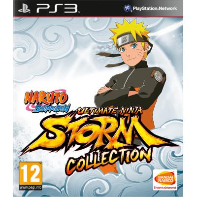Naruto Shippuden: Ultimate Ninja Storm Collection (1+2+3 Full Burst ) [PS3, английская версия (русские субтитры только для Storm 3)]