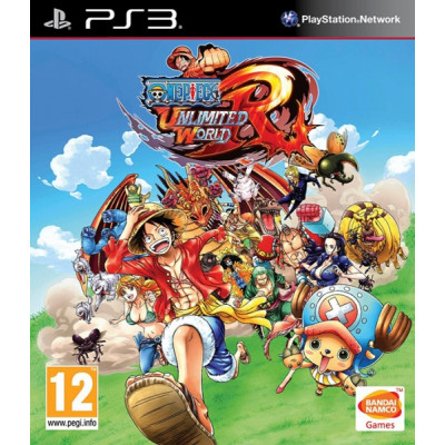 One Piece Unlimited World Red [PS3, английская версия]