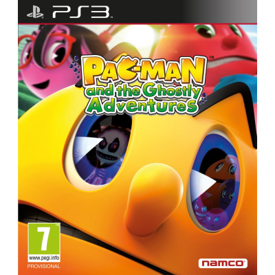 Pac-Man And The Ghostly Adventures HD [PS3, английская версия]