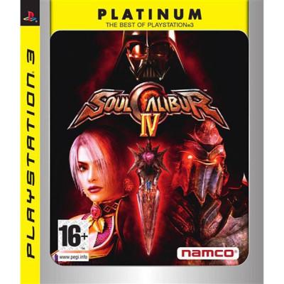 SoulCalibur IV (Platinum) [PS3, английская версия]