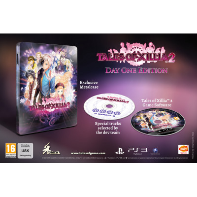 Tales of Xillia 2. Day One Edition [PS3, английская версия]