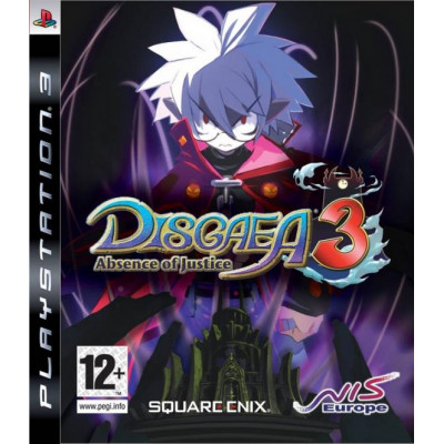 Disgaea 3: Absence of justice [PS3, английская версия]
