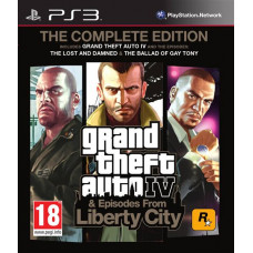 Grand Theft Auto IV. Complete Edition [PS3, английская версия]
