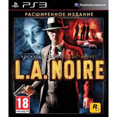 L:A:Noire. Расширенное издание [PS3, русская документация]