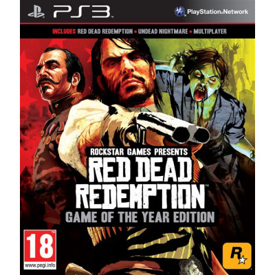 Red Dead Redemption. Game of the Year Edition [PS3, английская версия]