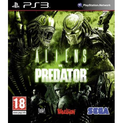 Aliens vs Predator [PS3, русская версия]
