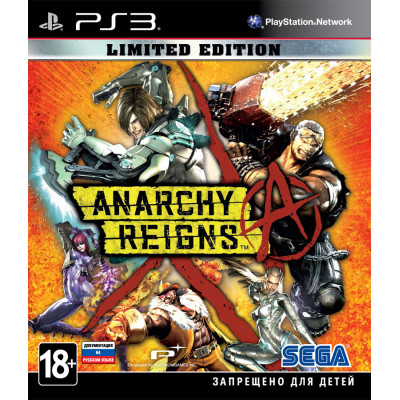 Anarchy Reigns. Limited Edition [PS3, русская документация]
