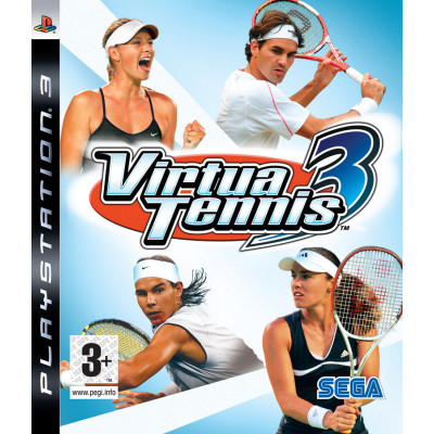 Virtua Tennis 3 [PS3, английская версия]