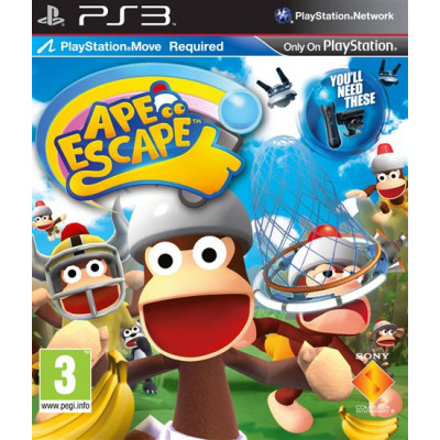 Ape Escape (только для PS Move) [PS3, русская версия]