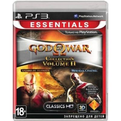 God of War Collection 2 (Essentials) [PS3, русская документация]
