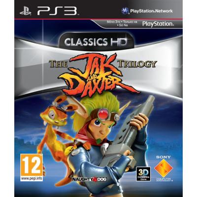 Jak & Daxter Trilogy [PS3, русская документация]