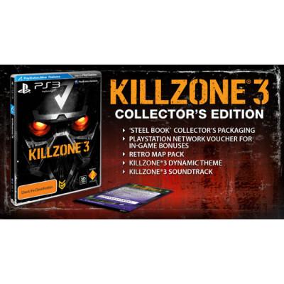 Killzone 3. Collector's Edition (с поддержкой PS Move, 3D) [PS3, русская версия]