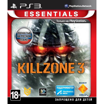 Killzone 3 (Essentials) (с поддержкой PS Move, 3D) [PS3, русская версия]