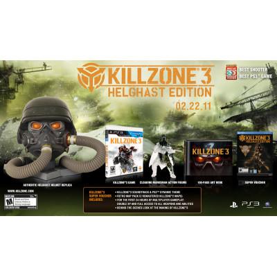 Killzone 3. Helghast Edition [PS3, американская версия]